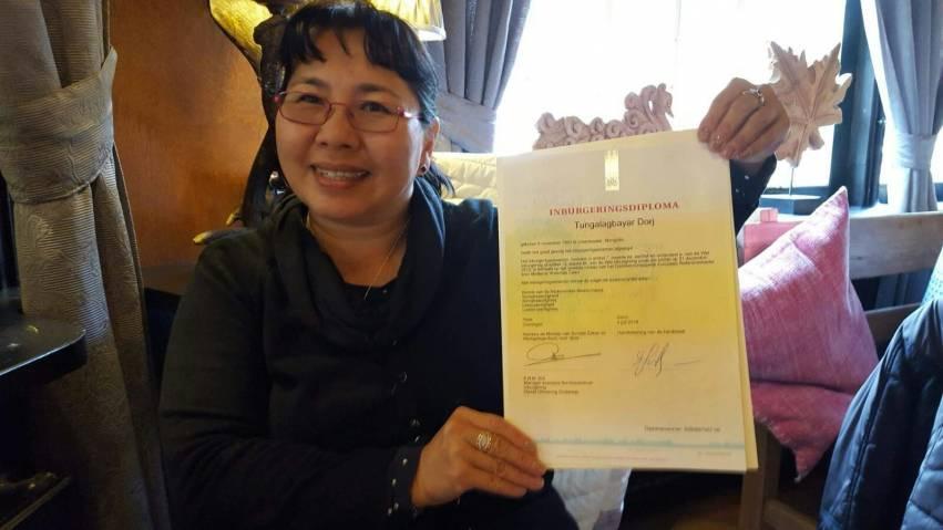 Tunga Dorj: 'Ik weiger bij de pakken neer te zitten'